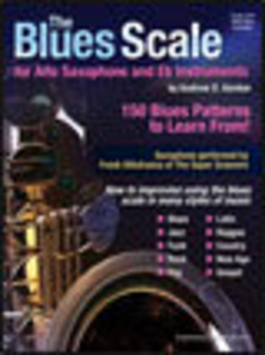 Blues scale asax Eb BK/CD The Blues Scale For Alto Saxophone And Eb Instruments /  / Music Sales Ltd
