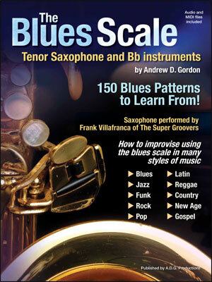 BK/CD The Blues Scale For tenor Saxophone And Bb Instruments /  / Music Sales Ltd