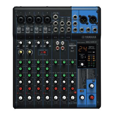 Yamaha ProAudio MG10XU Analog mixer