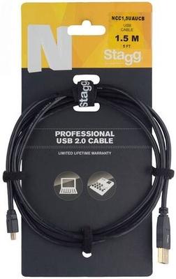 Stagg NCC1,5UAUCB Cable 1.5m USB/A-Micro B 2.0