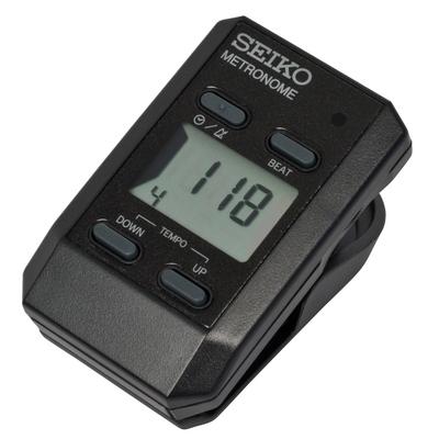 Seiko DM51 noir Seiko clip Metronome