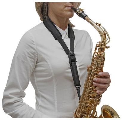 BG BG-S15SH Cordon pour sax alto – enfant confort large avec mousqueton