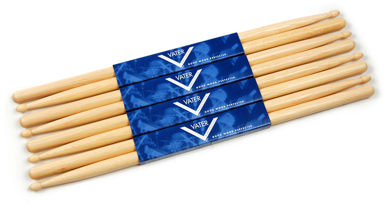 Vater VSP5AW Los Angeles 5A American Hickory Pack de 4 paires