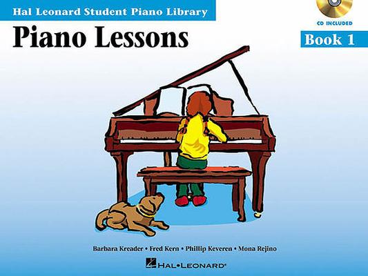 Piano Lessons, book + CD vol. 1 (English) / Kreader/Kern/Keveren/Rejino / Hal Leonard