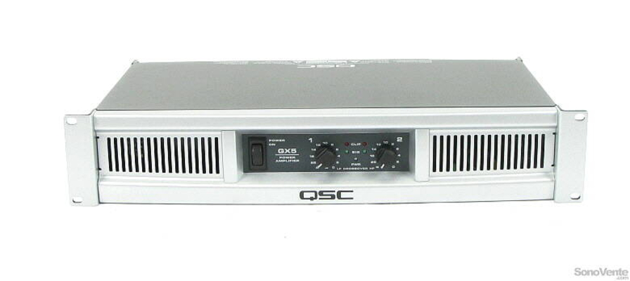 QSC GX5 2x700W Amplifier