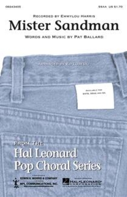 Mister Sandman / Pat Ballard / Hal Leonard