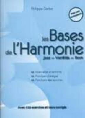 Les Bases de l'Harmonie (4ème Edition 2018) / Ganter Philippe / ID Music