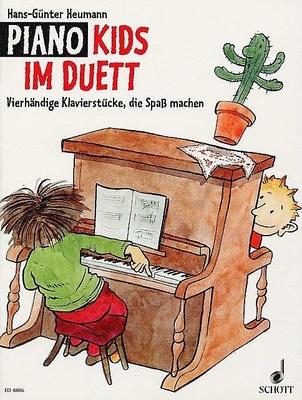Piano Kids im Duett: 22 vierhändige Klavierstücke, die Spass machen. Klavier 4-händig. Ausgabe CD / Hans-Günter Heumann / Schott