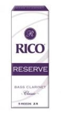 Rico RER0525 Reserve, Clarinette Basse 2.5 Boîte de 5