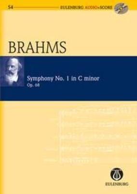 Eulenberg Audio plus Score / Symphonie no 1 en do mineur op. 68Symphony No.1 In C Minor Op.68 / Brahms Johannes / Eulenburg