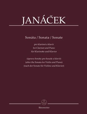 Sonate Leos Janacek  / Leos Janacek / Bärenreiter