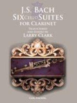 J. S. Bach: Six Cello Suites For Clarinet (Arr. Larry Clark) / Johann Sebastian Bach / Carl Fischer