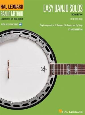 Easy Banjo Solos For 5-String Banjo  Second Edition (Book/Online Audio) /  / Hal Leonard