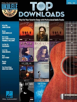 Ukulele Play-Along Volume 32: Top Downloads (Book/CD) /  / Hal Leonard