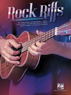 Rock Riffs For Ukulele With Tab /  / Hal Leonard