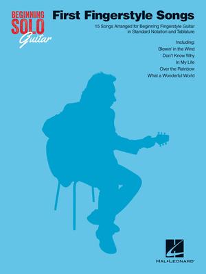 First Fingerstyle Songs    Gitarre Buch Pop und Rock HL00129734 /  / Hal Leonard