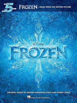 Five Finger Piano Songbook / Frozen: Music from the Motion Picture Soundtrack Five-Finger Piano / Kristen Anderson-Lopez_Robert Lopez / Hal Leonard