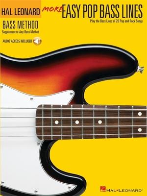 More Easy Pop Bass Lines /  / Hal Leonard