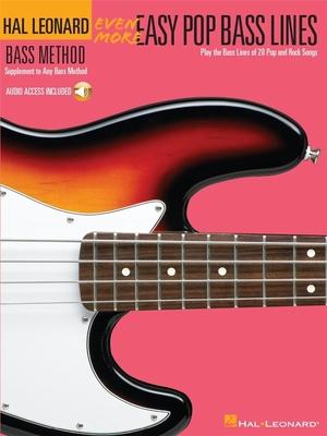 Even More Easy Pop Bass Lines /  / Hal Leonard
