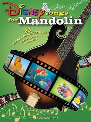 Disney Songs For Mandolin /  / Hal Leonard