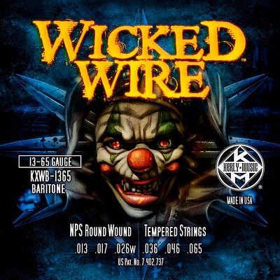 Kerly Music XWB1365 Set Wicked Wire Bariton 13-65