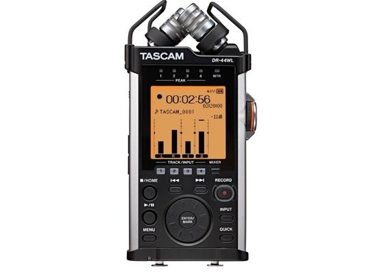 Tascam DR-44 WL enregistreur 4 pistes , réseau wifi integré