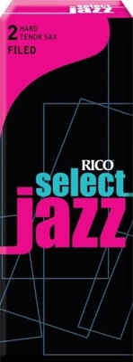 Rico RSF05TSX2H Jazz, Sax Ténor, Filed 2H, Paquet De 5