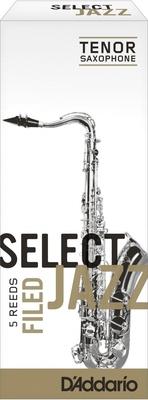 D'Addario RSF05TSX3M Select Jazz, Sax Ténor, Filed 3M, Paquet de 5
