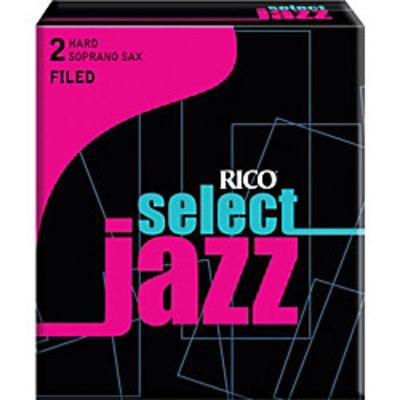 Rico RSF10SSX2H Sax Soprano, Filed 2H, Boîte De 10