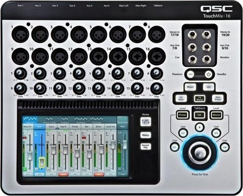 QSC TouchMix 16 TouchMix 16 Compact digital mixer