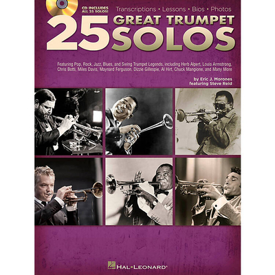 25 Great Trumpet Solos (Book/CD)  /  / Hal Leonard