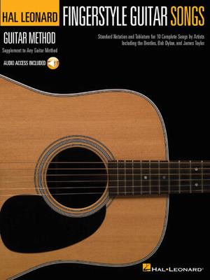 Hal Leonard Guitar Method: Fingerstyle Guitar Songs (Book/Online Audio) /  / Hal Leonard