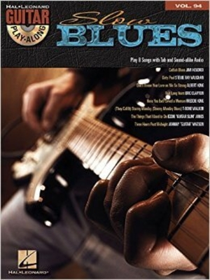 Guitar Play-Along Volume 94: Slow Blues (Book/CD)  /  / Hal Leonard