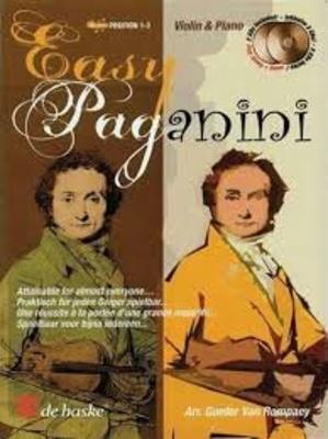 Pianino / Easy Paganini Violon/Piano Partition + 2 CD / Niccol Paganini / De Haske