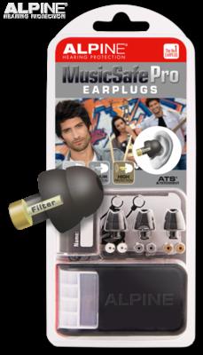 Alpine Music Safe Black Earplugs