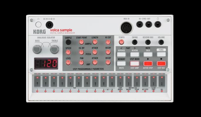Korg Volca Sample Sample Sequencer
