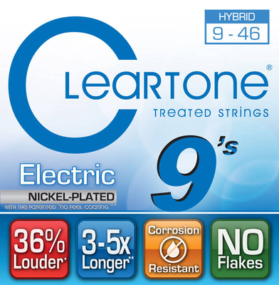 Cleartone 9419 Hybrid 09-46 Electric Nickel Plated