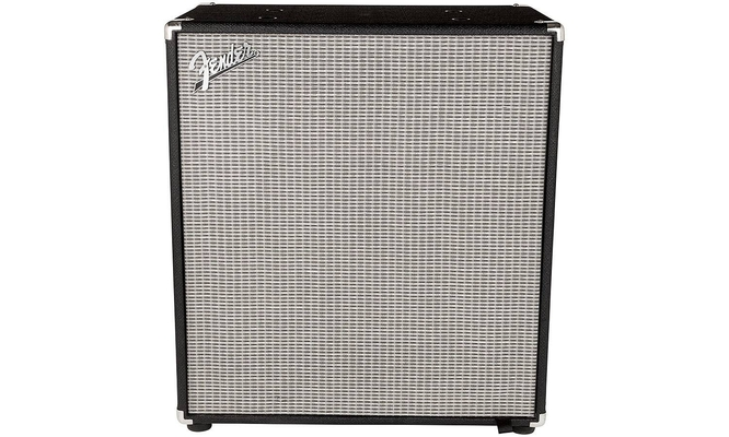 Fender Rumble 410 cabinet v3 Black And Silver