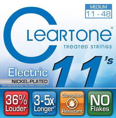 Cleartone 9411 Medium 11-48 Electric Nickel Plated