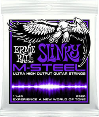 Ernie Ball M-Steel Slinky Power 11 14 18p 28 38 48