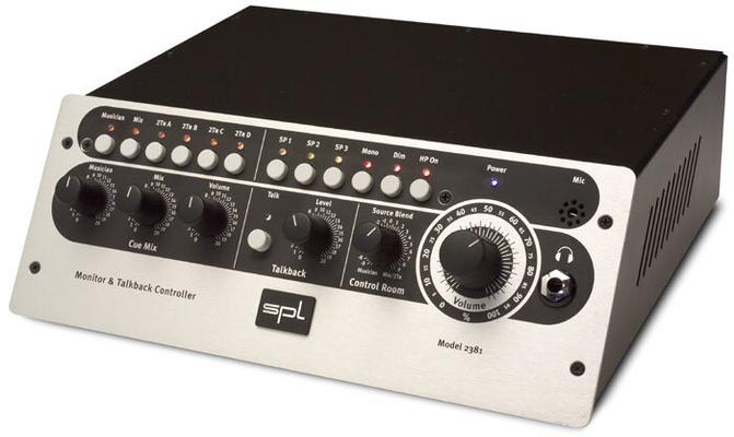 SPL Monitoring Controller MTC Monitor & Talkback Controller