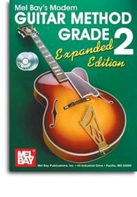 Mel Bay: Modern Guitar Method Grade 2 Book / CD Expanded Edition /  / Mel Bay