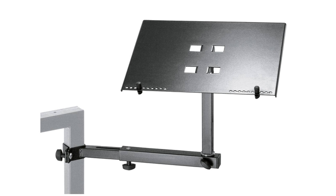 K & M 18815 Laptop holder – black