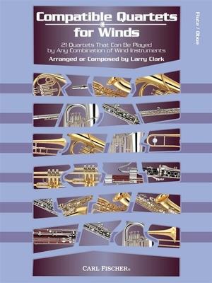 Compatible Quartets For Winds (Flute/Oboe)  /  / Sheet Music