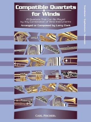 Compatible Quartets For Winds (Trombone)  /  / Sheet Music