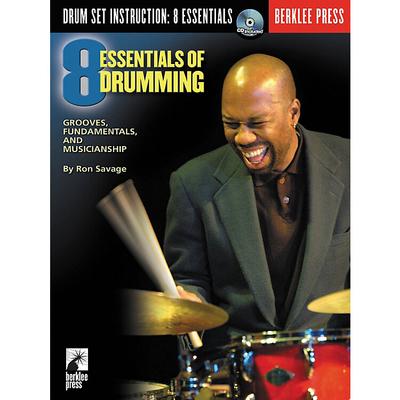 Eight Essentials Of Drumming (Book and CD) /  / Berklee Press