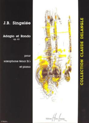 Singelee Adagio et Rondo Op. 63 /  / Henry Lemoine