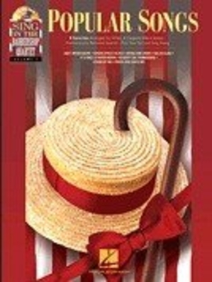 Popular Songs, Sing In The Barbershop Quartet Volume 4 (Book/CD) /  / Hal Leonard