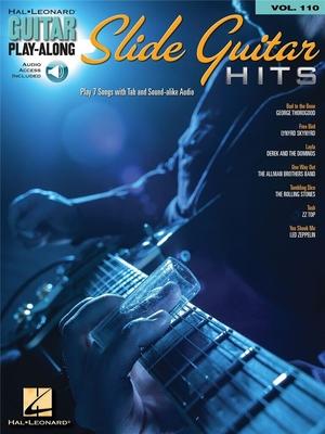 Guitar Play-Along Volume 110: Slide Guitar Hits /  / Hal Leonard