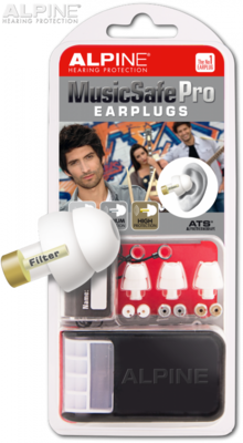 Alpine Music Safe White Earplugs
